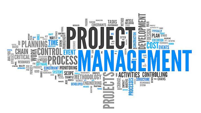 Image of words that related to project managment