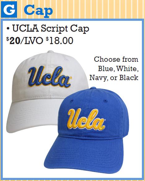 UCLA Script Cap